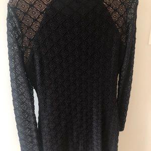 BCBGMaxAzria Dresses - BCBG fringe front dress